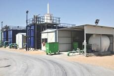 Temporary Membrane Bioreactor: Masdar