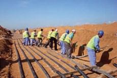 Infrastructure Works: Mina Al Arab
