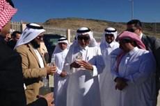 Minister Vists Baha MBR. Dec 2013